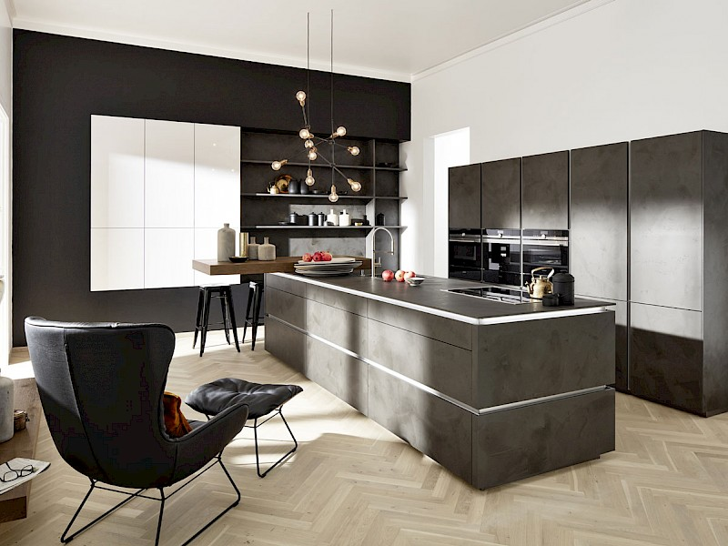 Portland Anthracite Kitchen