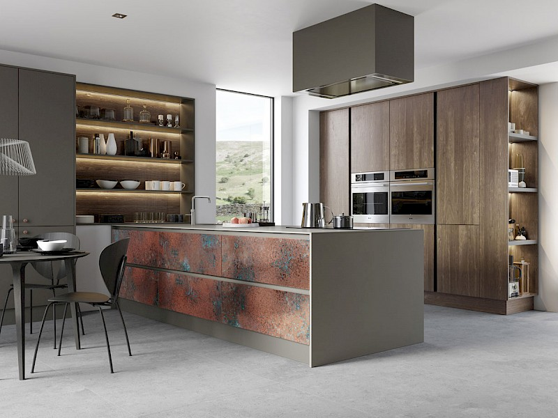 Ferro Oxi Copper Kitchen Range
